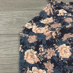American Eagle Outfitters Tops - American Eagle • Floral Soft Halter Body Suit